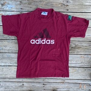 Vintage Adidas Equipment Shirt With Sleeve Patch